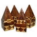 Caja de Humo para conos Teselas madera